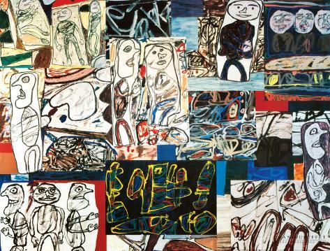 Tissu d'Episode, 1976 Art Print