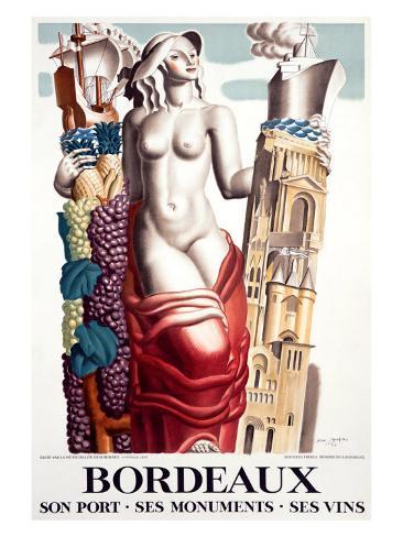 Bordeaux Giclee Print