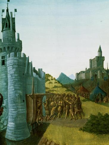 Philippe III Le Hardi (1245-1285), French King 1270-1285, Captures the Castle Foix Giclee Print