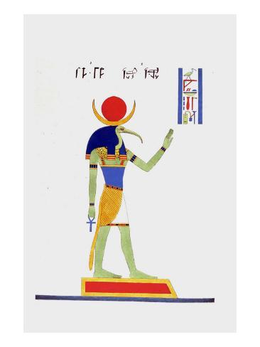 Thout Thoth Twice as Large Stampa giclée