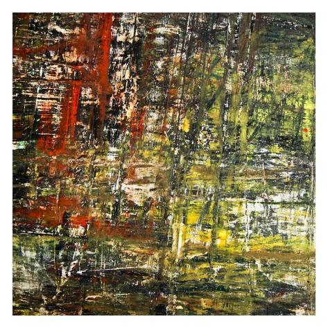 Abstract Stripes, no. 6 Art Print