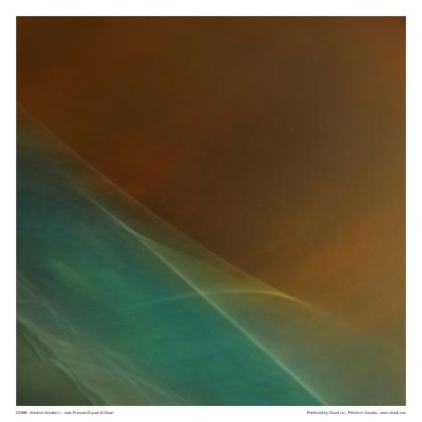 Abstract Vibration I Art Print