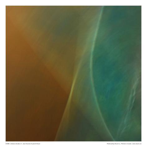 Abstract Vibration II Art Print