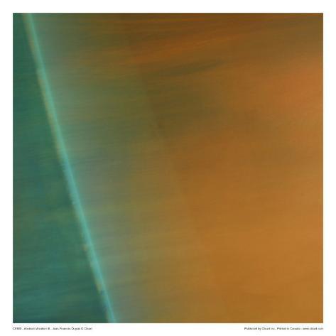 Abstract Vibration III Art Print