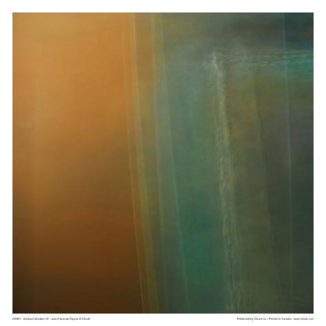 Abstract Vibration IV Art Print