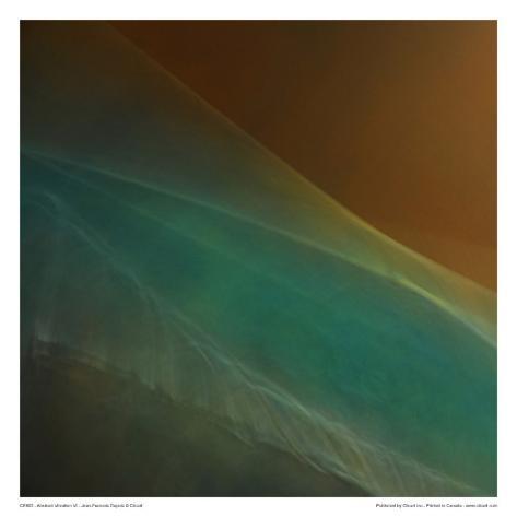 Abstract Vibration VI Art Print