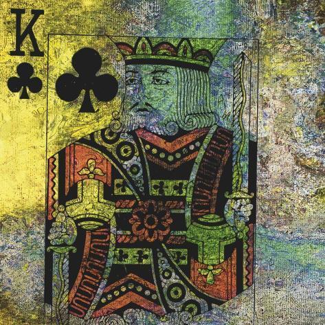 Le Roi De Trèfle Art Print