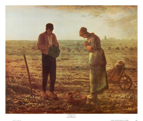 Angelus Art Print