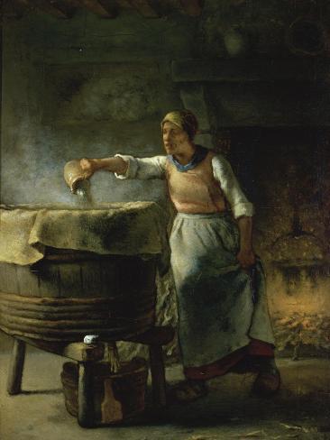 La Femme au Puits Giclee Print