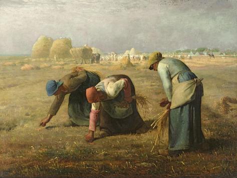 The Gleaners, 1857 Giclee Print