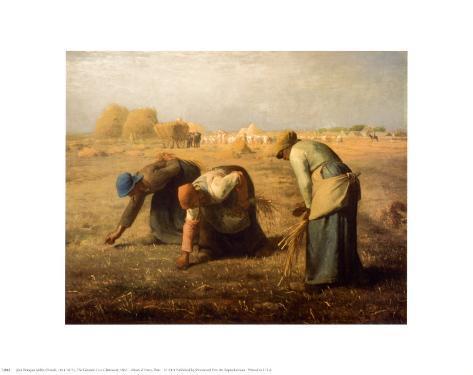The Gleaners Art Print