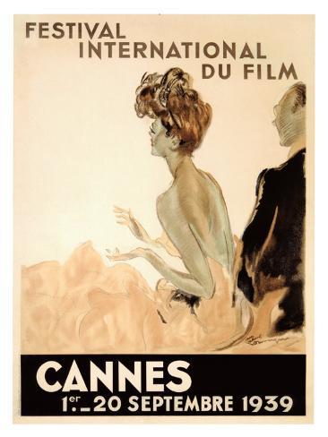 Festival International du Film, Cannes, 1939 Giclee Print