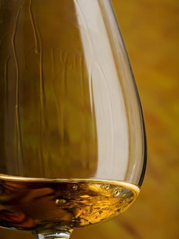 Cognac in Snifter Photographic Print