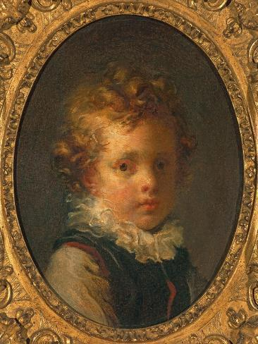 Head of a Boy (Alexandre-Evariste 'Fanfan' Fragonard), C.1785 Lámina giclée