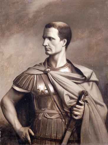 A Portrait of Julius Ceaser, Half-Length Lámina giclée