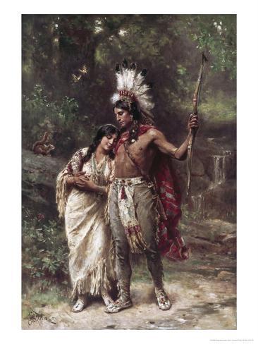 Hiawatha's Wedding Journey Impressão giclée