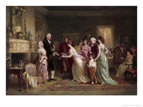 Washington's Birthday Impressão giclée
