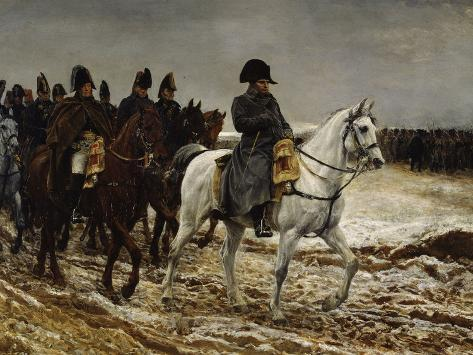 Campagne de France Napoleon, c.1864 Giclee Print