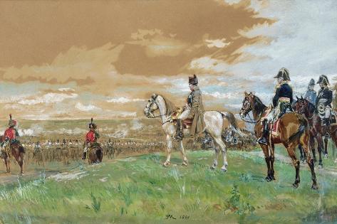 Jena (Napoleon on Horseback) 1880 Lámina giclée