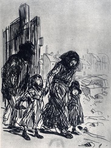 After the Seizure, 1925 Lámina giclée