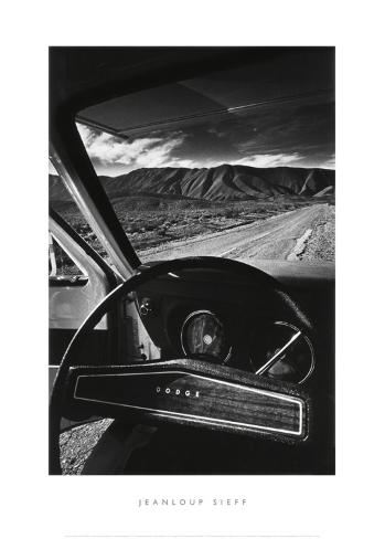 Dodge's Wheel (Death Valley, California, 1977) Konstprint