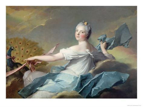 Portrait of Adelaide de France, as the Element Air Giclee Print