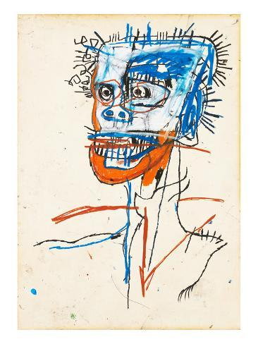 Untitled (Head of Madman), 1982 Giclee Print