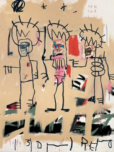 Untitled Three Kings Giclee Print By Jean Michel Basquiat At AllPosters