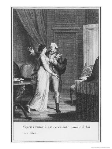 Illustration from The Sorrows of Werther by Johann Wolfgang Goethe Giclee Print