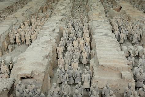 Shi Huangdi Tomb Map