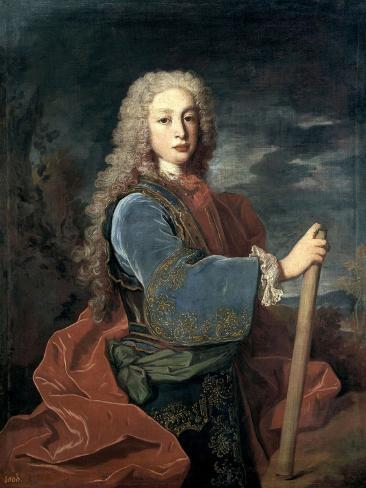 Louis I of Spain, 1724 Giclee Print