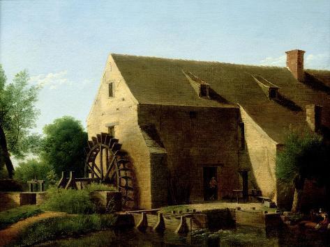 A Mill, 1800-06 Giclee Print