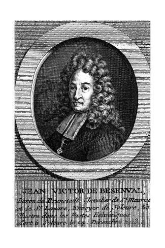 Jean Victor de Besenval Stampa giclée
