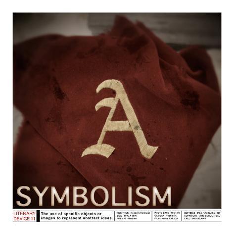 Literary Devices: Symbolism Art Print