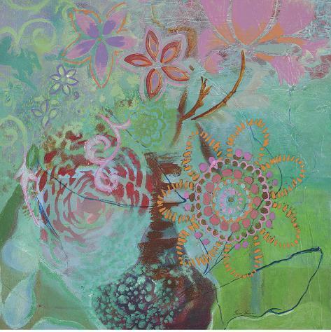 Bohemian Blooms Art Print