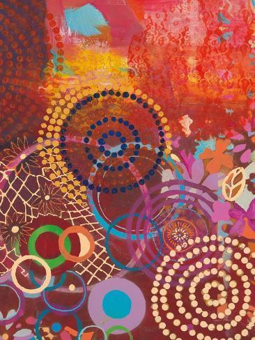 Textile Story Art Print