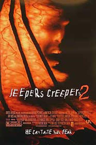 Jeepers Creepers 2 Double-sided poster