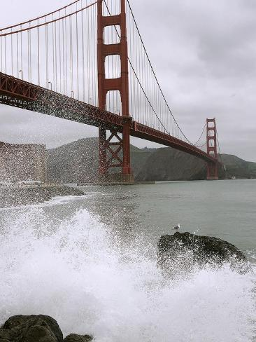 Golden Gate Suicides Photographic Print