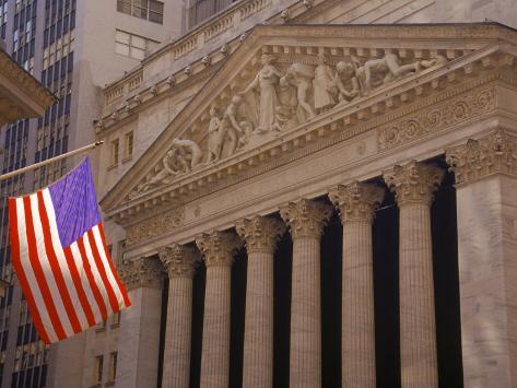 NY Stock Exchange Photographic Print
