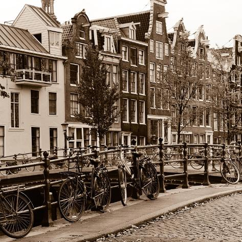 Autumn in Amsterdam I Photographic Print