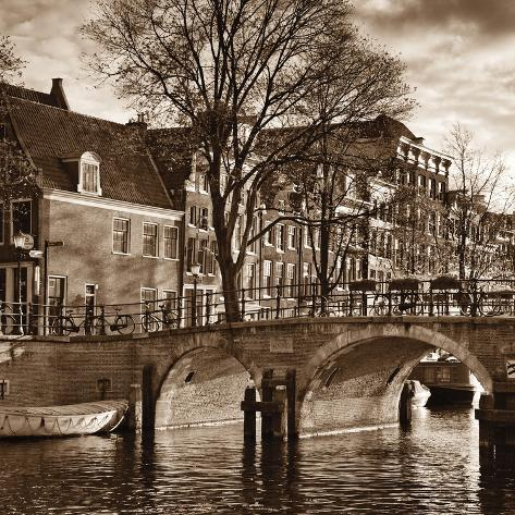 Autumn in Amsterdam II Photographic Print