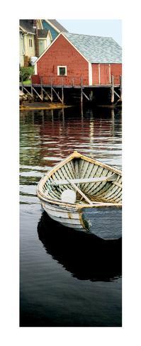 Row Boat, Peggy's Cove, Nova Scotia Art Print