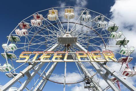 The Iconic Steel Pier Ferris Wheel in Atlantic City, New Jersey Photographic Print