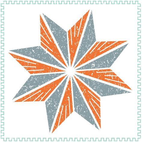 Octagram Star Art Print