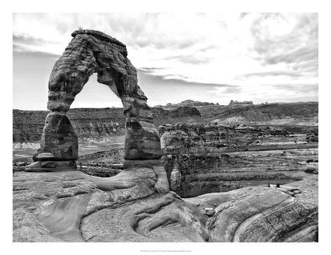 Desert Arches I Art Print