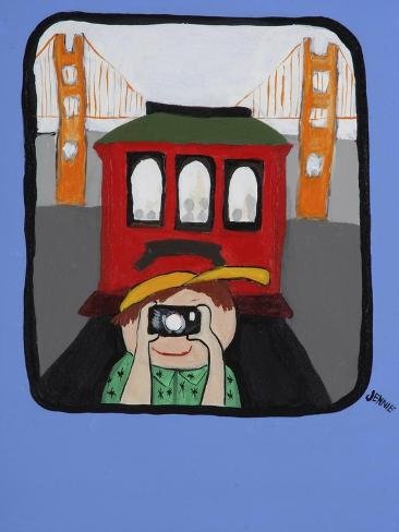 Smile San Francisco Giclee Print