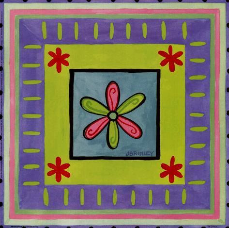 Flower Power II Art Print