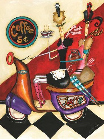 Coffee 5-Cents Giclée-vedos