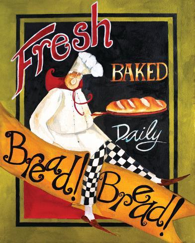 Fresh Baked Bread Art Print