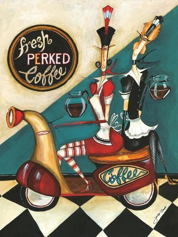Fresh Perked Coffee Giclee Print
